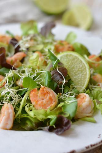 Salada Fria de Camarão