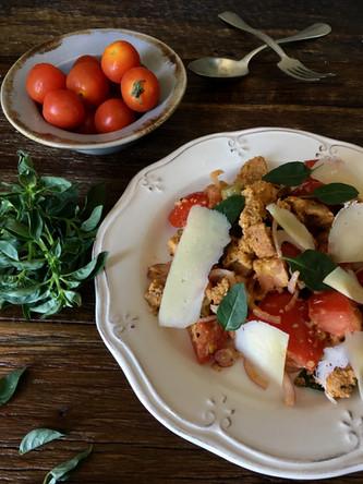 Salada Panzanella - JAMIE OLIVER