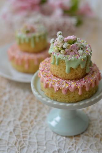 Mini Naked Cake de Ninho