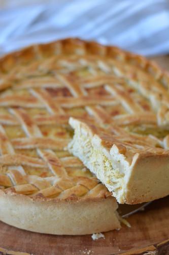 Torta Creme de Milho e Frango