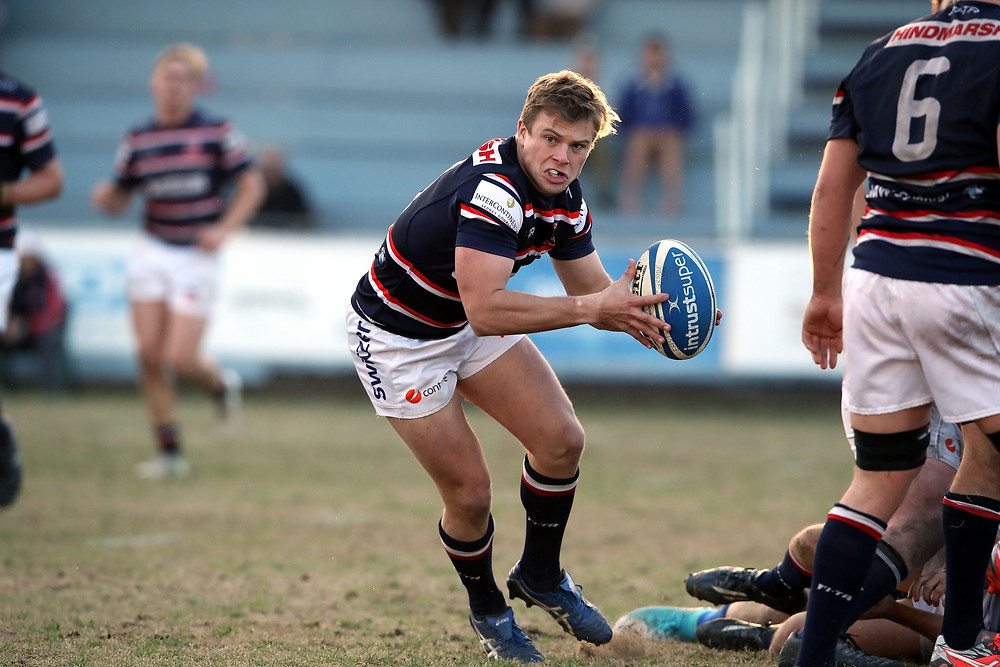 Andrew Ferris in action for Easts 1st Grade