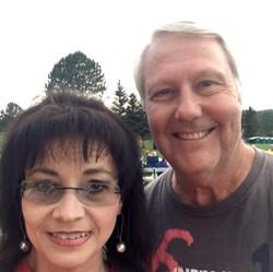 lonnie with wife