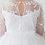Thumbnail: Tip Top Kids - R5705X9 Long Sleeve Illusion Neckline w/Lace Applique Tulle Skirt