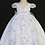 Thumbnail: Tip Top Kids - D22809 New Baptism Dress with Maria on Skirt and 3-Bow Back