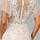Thumbnail: GLS - P28819 Lace and Mesh Layered Embroidered A-Line Long Dress