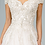 Thumbnail: GLS - F18325 Multi-Layered Embroidered Mesh Cut-Away Shoulder Gown
