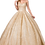 Thumbnail: Dancing Queen - W13419 Strapless Sweetheart Bodice Glitter Ballgown