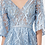 Thumbnail: GLS by Gloria - N29738 Full Embroidered Mesh A-Line Dress w/Waist Band
