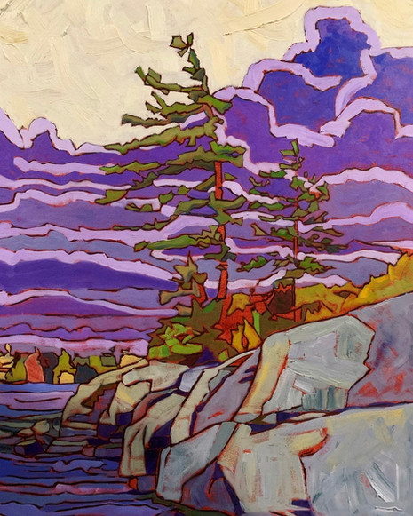 The Purple Pines, A