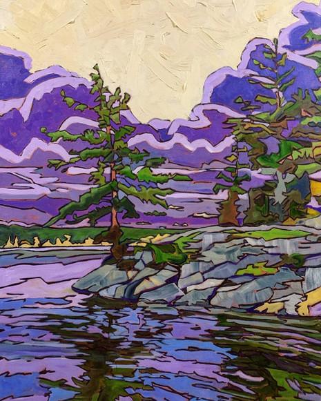 The Purple Pines, B