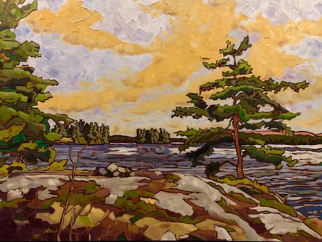 Blueberry Island, Round Lake, Algonquin Park