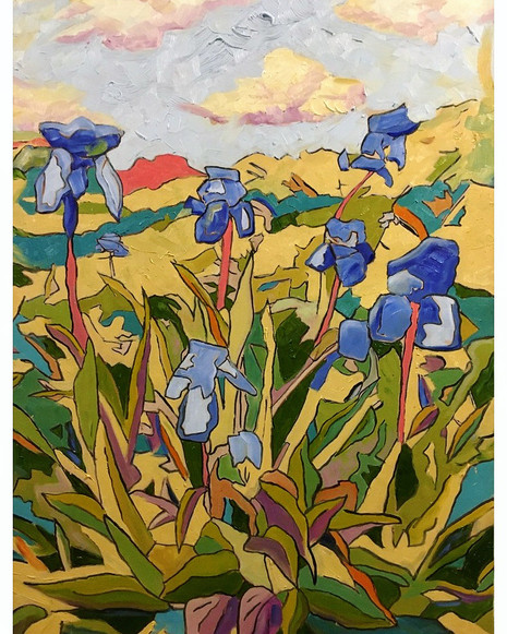 The Irises of Spring