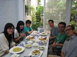 實驗室聚餐