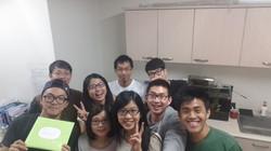 實驗室生日party