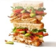Roasted Turkey & Avocado Sandwich