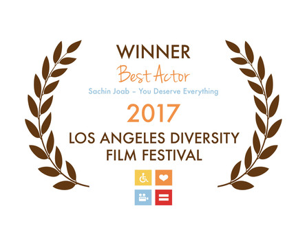 Winner - Best Actor 2017 Los Angeles Diversity Film Festival