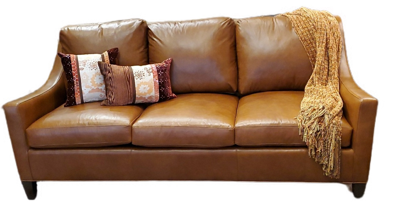 Ludlow Sofa Derby Syrup Leather
