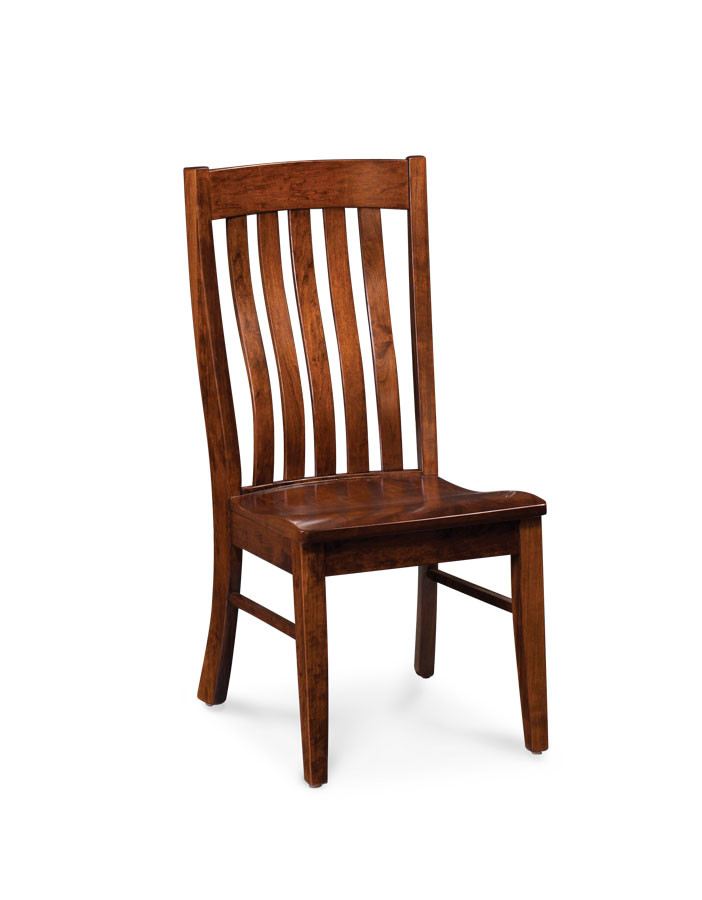 Bradford Side Chair Soft Maple Mocha Nut