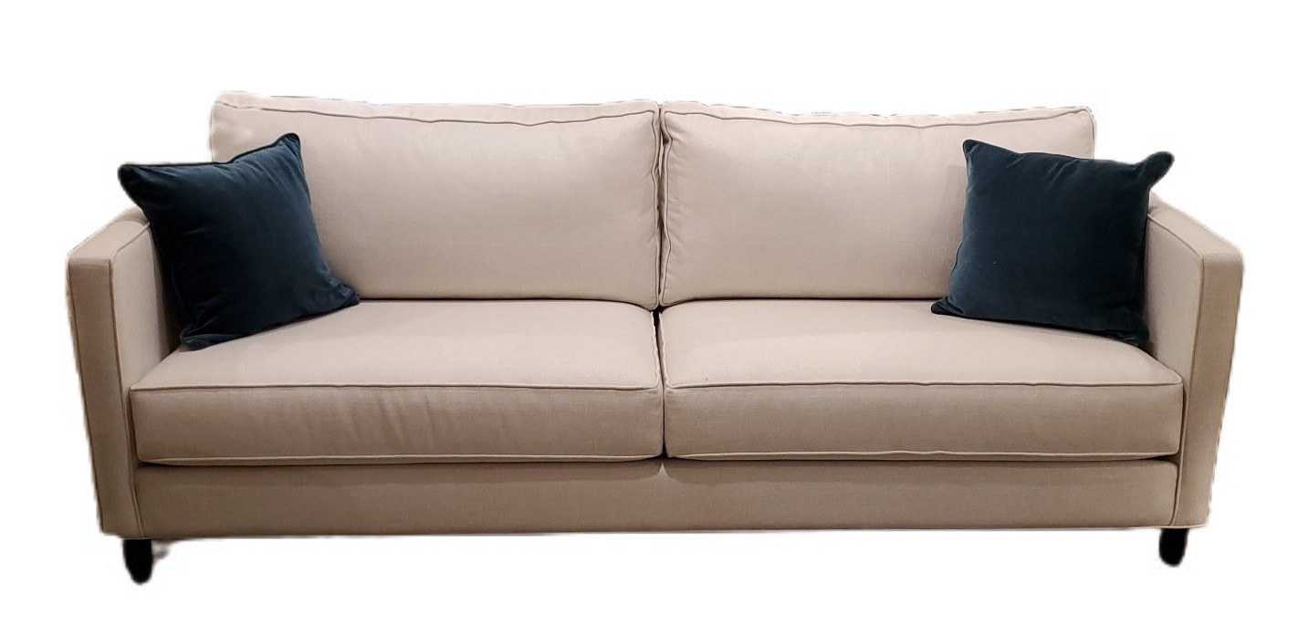 Jude Sofa White Fabric