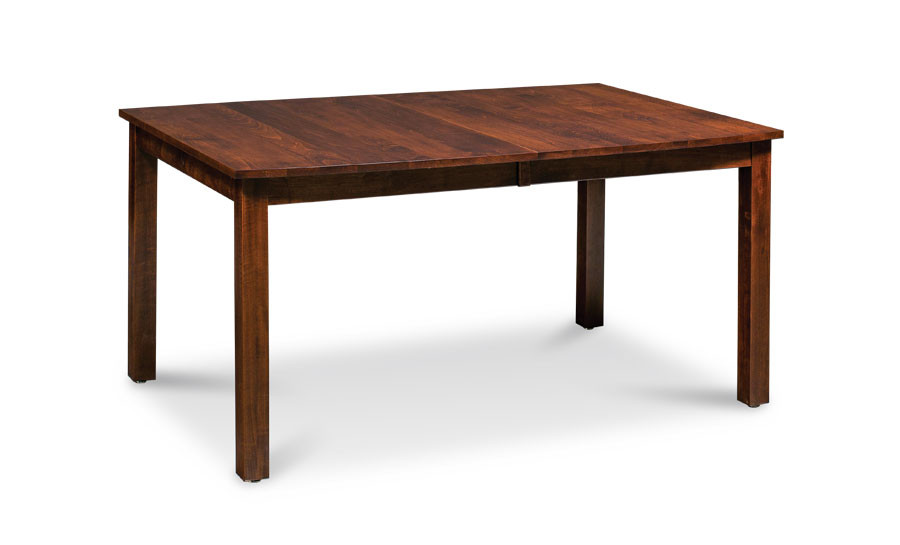 Sheffield Boat Leg Table Soft Maple Bourbon