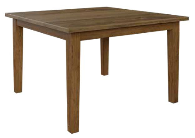 Richville Dining Table Brown Maple