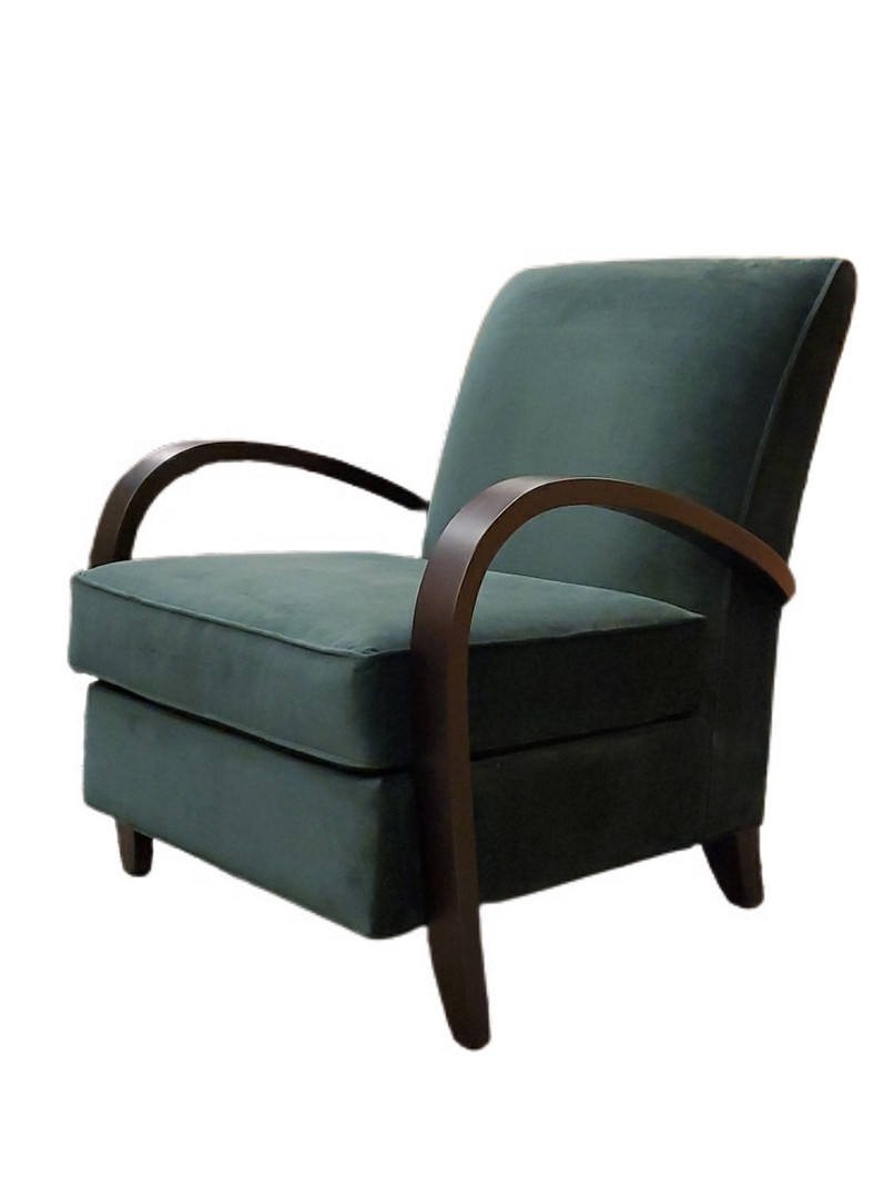 Martin Chair Green Velvet