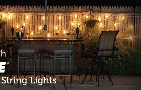 Light up your Outdoor Living!