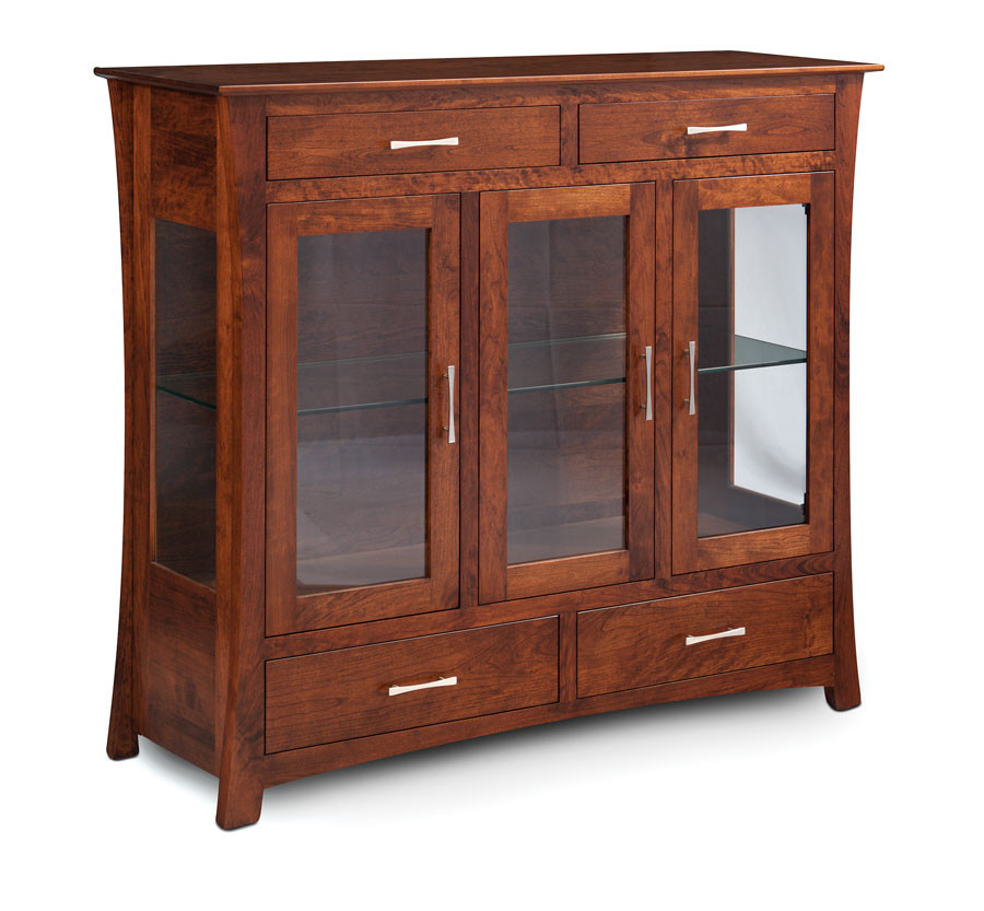 Loft Dining Cabinet Soft Maple Bourbon