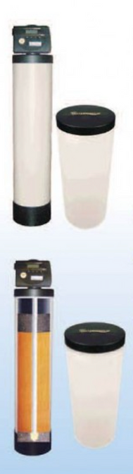 Gold Iron Bloack Water Softener and Purification System