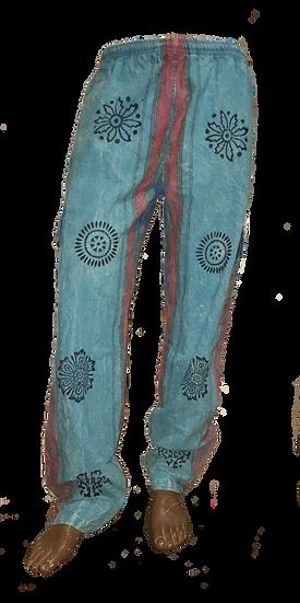 Bright Turquoise Shyama Pants