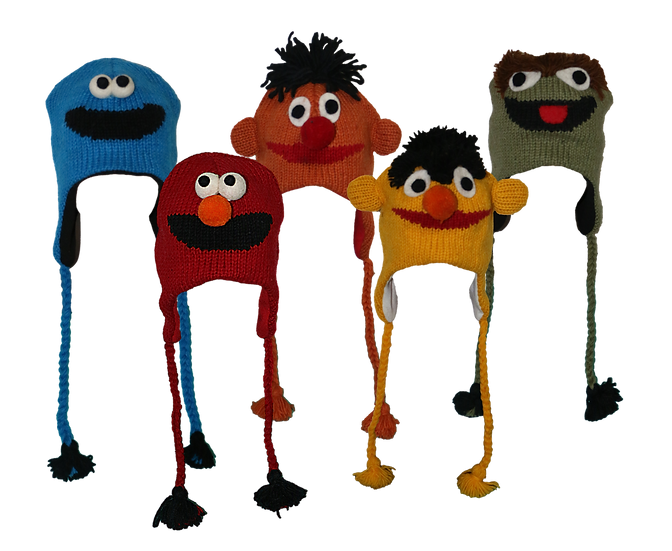 Sesame Street Beanies