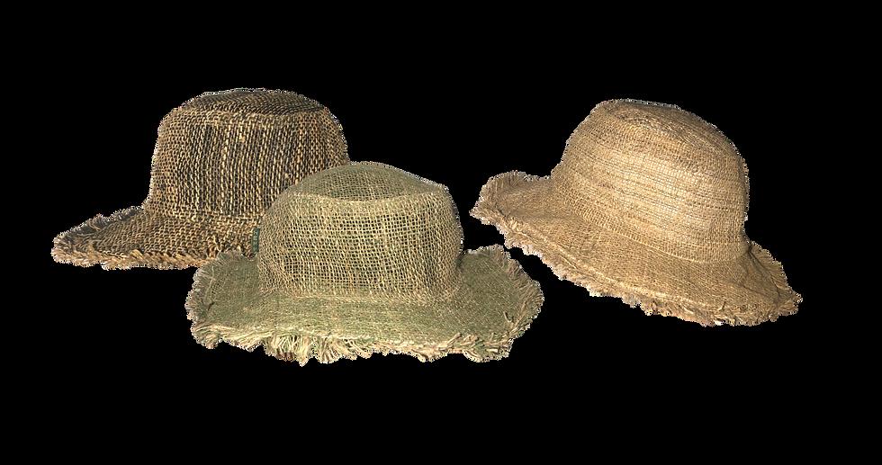 Wide Brim Hemp Hat