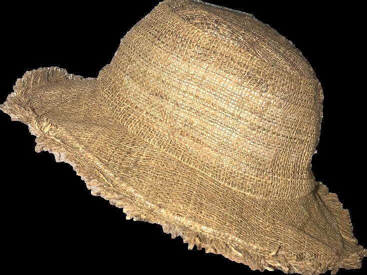 Natural Wide Brim Hemp Hat