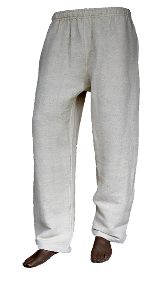 Natural Heavy Cotton Pants