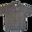 Thumbnail: Pinstripe Collared Short Sleeve Shirt