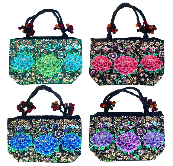 Large Embroidered Bag