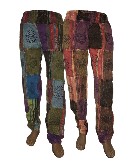 Patchwork Shyama Pants