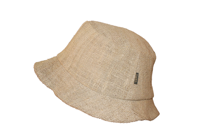 Short Brim Hemp Hat