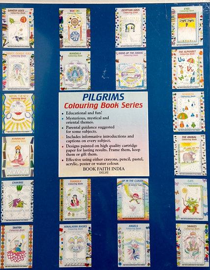 Spiritual Tibetan Colouring Books