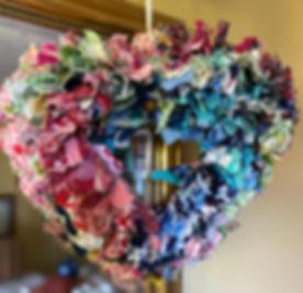 Fabric Door/Wall Wreath - Made to order