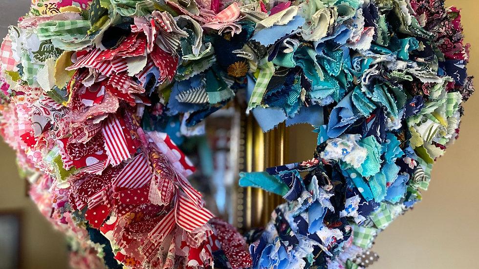 Fabric Wall/Door Wreaths