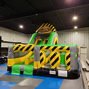 16' Extreme Obstacle/Slide Combo (Dimensions 40' L x 16' W x 16' H)
