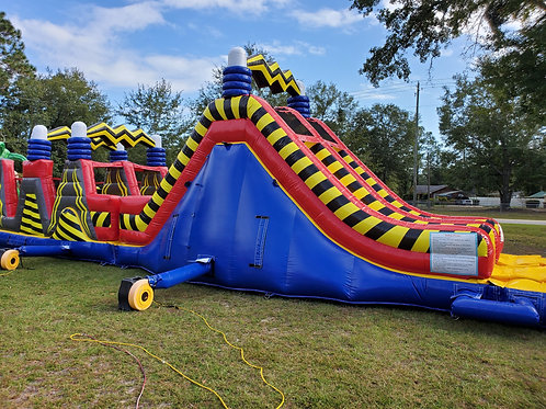 Shockwave Obstacle Run (Dimensions 50' L x 18' W x 16' H)
