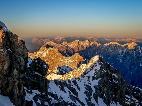 Sunset Dreams - Zugspitze in Austria