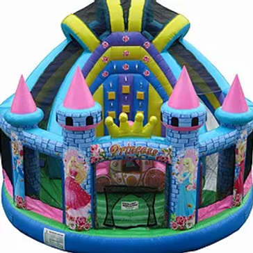Princess Playground Combo (Dimensions 21' L x 18' W x 17' H) Dry Only