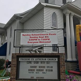 Friedens Neighborhood Church Picnic September 2019