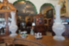 Crystal vases, Prudent Mallard, Dental Cabinet