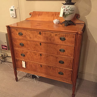 Tiger Maple Chest