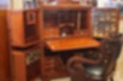 Mahogany Wooton Desk late 1800's.JPG