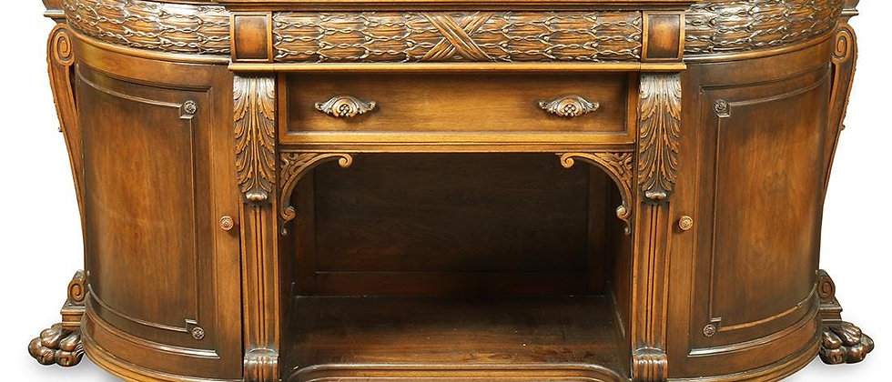 Classical Mahogany style sideboard